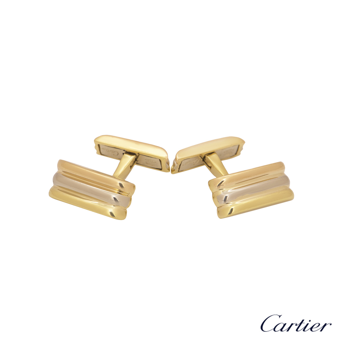 Cartier Tri-Colour Trinity De Cartier Cufflinks